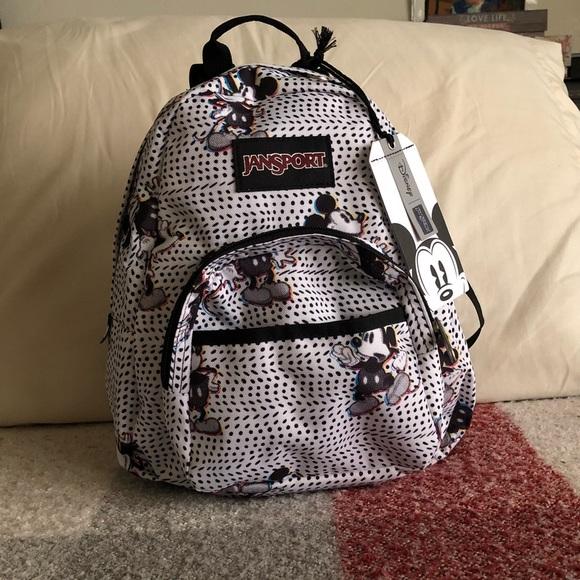 bd79d41f49b NWT DisneyXJansport half pint backpack